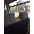 Nathan enjoying the luxury of the transportation..
