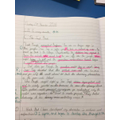 Anna conveys character through her writing