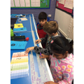Using a place value grid to help with conversions