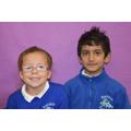 Freya & Haider (Jade Class)