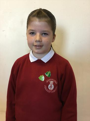 HEAD GIRL OF RATHCOOLE PRIMARY SCHOOL