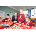 Minister Peter Weir visited the Rainbow Room