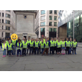 Year 1 at the Monument in London