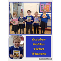 October Golden Ticket Winners