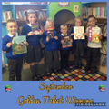 KS1 Golden Ticket Winners September