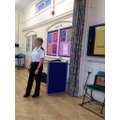 Jo from Northants Fire visits Year 1