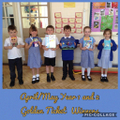 Year 1/2 April/May Golden Ticket Winners