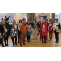 Raunds Park Staff on World Book Day