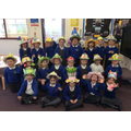 Heron Class in their Easter Bonnets