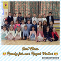 Owl Class ready for a Royal Tea Party