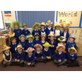 Starling Class in their Easter Bonnets