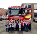 Fire Engine visits Reception