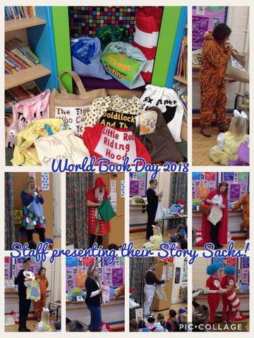 Presenting the Story Sacks in Assembly