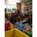 Reception visit the Library on World Book Day