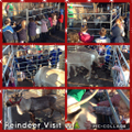 A Christmas Reindeer Visit at RPIS