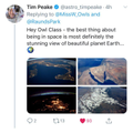 Owl Class receive message from Tim Peake