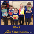 March Golden Ticket Winners