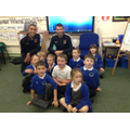 Marc Richards & Lewin Nyatanga from NTFC visit