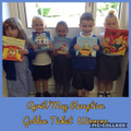 Reception April/May Golden Ticket Winners