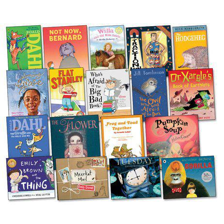 Year 2 Reading Spine Books