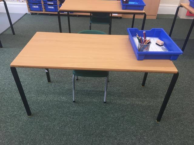 Individual work stations for each child