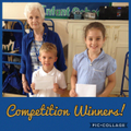 Raunds Library £10 voucher Competition Winners