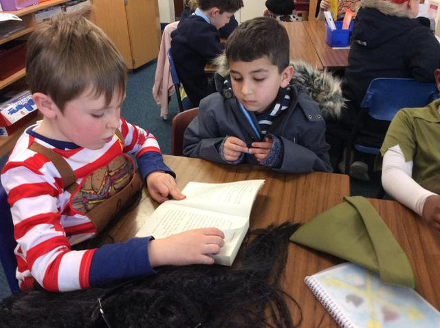 Year 2 visited St Peter's Academy to #ShareAStory