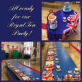 A Royal Tea Party in Year 1