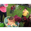 Apple bobbing at our 10th Anniversary