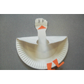 Seagull - Paper Plate - Hall Activity