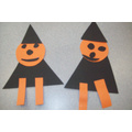 Pumpkin Witches - Hall Activity