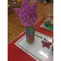 Decorate a Glass & Flower