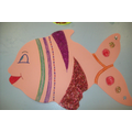 Decorate a Fish - Art Room Activity