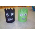 Monster Tubes - Breakfast Club Activity