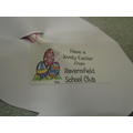 Easter Gift to Pupils from Ravensfield School Club