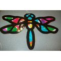 Stain Glass Dragonfly Craft
