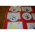 Hand Printed Plate - 3rd Week