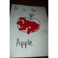 'A' for Apple - Hall Activity