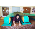 Mrs Kennedy - Inflatable Tunnel