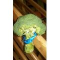 Evil Pea has captured the veggies