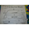 Label a Car - Breakfast Club Activity - Hall
