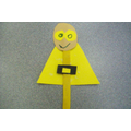 Superhero Lolly Pop Sticks - Art Room Acitivty