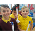 Making our rockets!