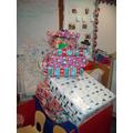 Lots of presents in Santa's Sleigh
