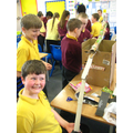 Making the marble rollercoaster