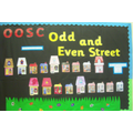 Odd & Even Street - Hall Display Board Nov 2015