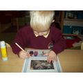 Writing about the pictures we took of winter