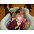 Fun in the ball pool