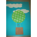Hot Air Balloon Craft - Hall Activity