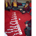 We can order number and put the correct quantities